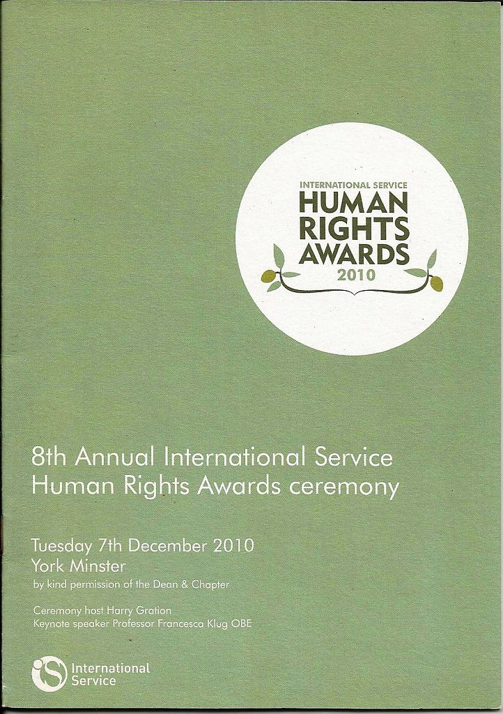 Human Rights Awards 2010